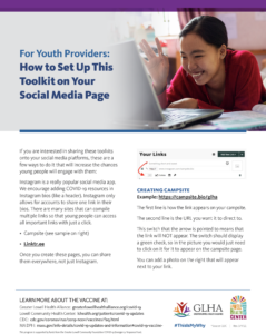 Youth providers flyer